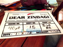 On The Sets Of The Movie Dear Zindagi