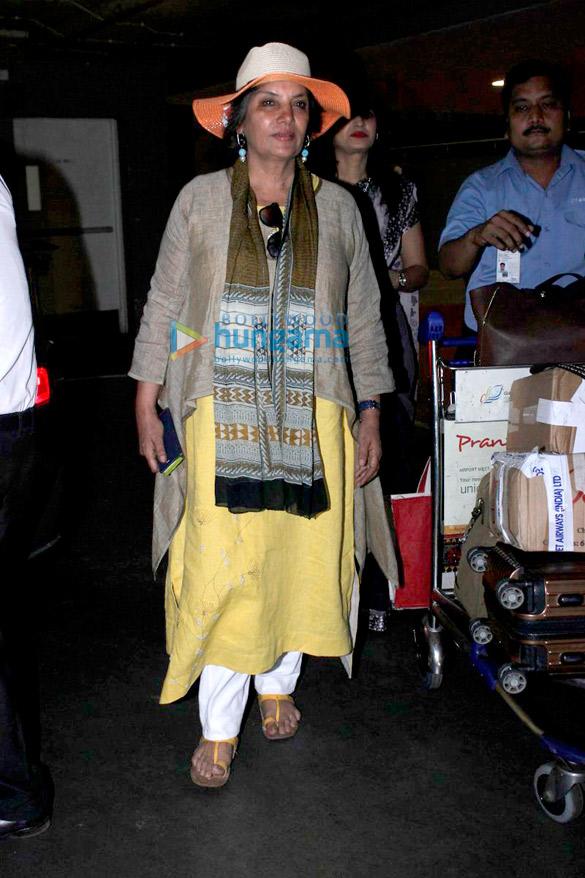 Evelyn Sharma, Mawra Hocane, Arbaaz Khan & Suniel Shetty snapped at the airport