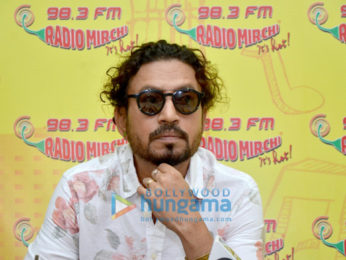 Irrfan Khan promotes 'Madaari' at 98.3 FM Radio Mirchi