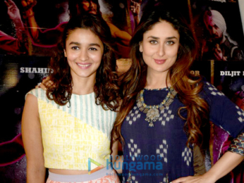 Kareena Kapoor Khan & Alia Bhatt at 'Udta Punjab' media meet