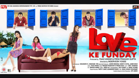 Movie Wallpaper Of The Movie Love Ke Funday