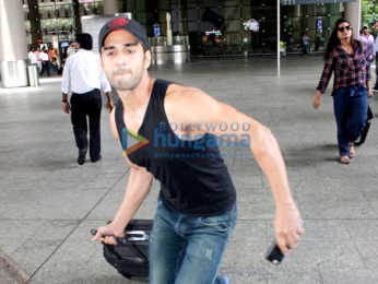 Yami Gautam and a rather angry Pulkit Samrat were snapped at the airport