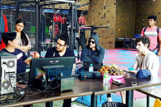 On The Sets Of The Film Raabta
