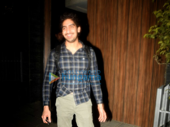 Ranbir Kapoor, Karan Johar & Ayan Mukerji snapped post get-together at Aamir Khan's house