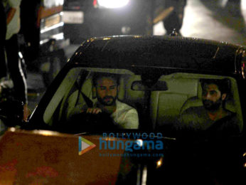 Saif Ali Khan snapped shooting for his untitled movie at Carter Road in Bandra