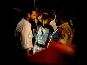 Saif Ali Khan shoots for an untitled movie in Bandra