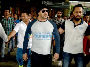 Salman Khan, Shahid Kapoor & Ameesha Patel arrive from Spain