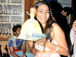 Sana Khan celebrates her birthday at R-Adda