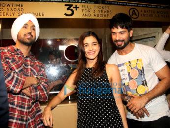 Shahid Kapoor & Alia Bhatt promote 'Udta Punjab' at PVR Juhu