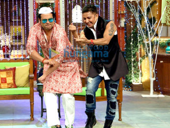 Sukhwinder Singh & Faaiz Anwar promote their film 'Love Ke Funday' on Colors Show Comedy Nights Live