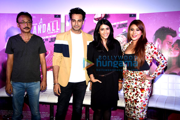 Trailer launch of 'A Scandall'