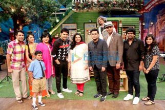 A R Rahman snapped on sets of The Kapil Sharma show