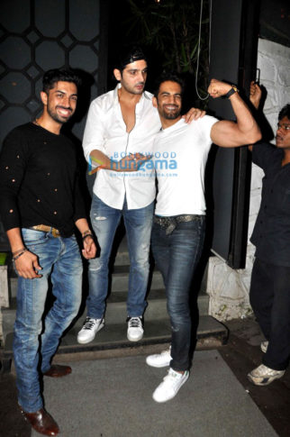Celebs at Vicky Ratnani's birthday bash at The Korner House