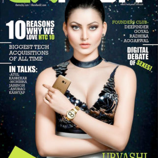 Urvashi Rautela On The Cover Of Exhibit
