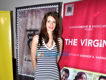 Kalki Koechlin, Imran Khan & Sudhir Mishra attend the special screening of short film 'The Virgins'
