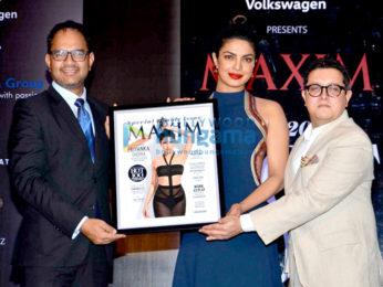 Priyanka Chopra graces the launch of Maxim India cover