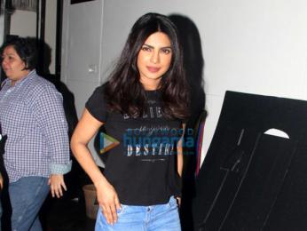 Priyanka Chopra snapped post Colgate ad shoot in Mumbai