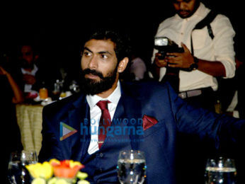 Rana Daggubati, Amyra Dastur, Rakul Preet & Pragya Jaiswal at South Indian Business Achievers awards in Singapore