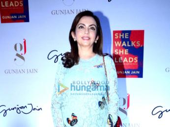 Shah Rukh Khan & Nita Ambani unveil Gunjan Jain's book 'She Walks She Leads'