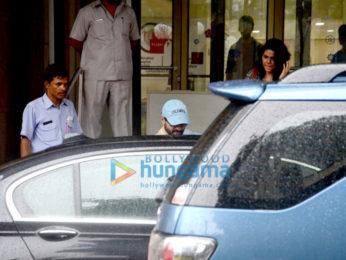 Saif Ali Khan discharged post-surgery snapped at Kokilaben Ambani Hospital