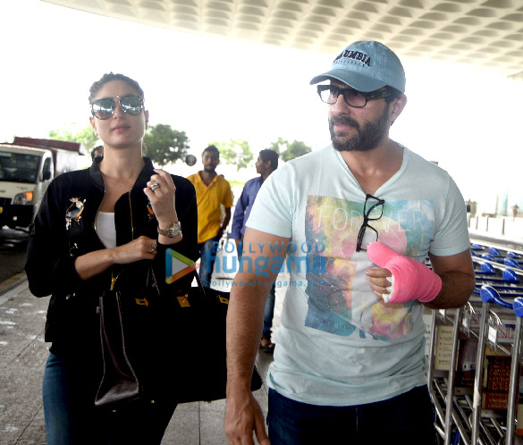 Saif Ali Khan & Kareena Kapoor Khan snapped post pregnancy confirmation