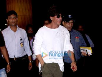 Shah Rukh Khan departs for Munich