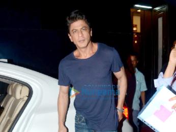 Shah Rukh Khan snapped at Filmcity