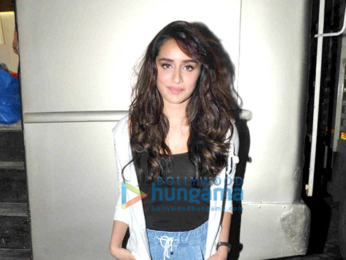 Shraddha Kapoor snapped post ad shoot in Bandra