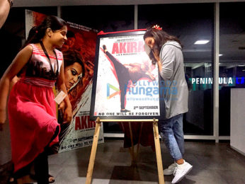 Sonakshi Sinha at the third poster launch of 'Akira'