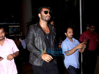 Arjun Kapoor spotted at the international airport
