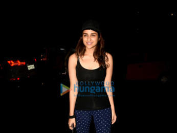Katrina Kaif, Alia Bhatt, Parineeti Chopra, Varun Dhawan & others snapped at 'Dream Team' concert's rehearsal