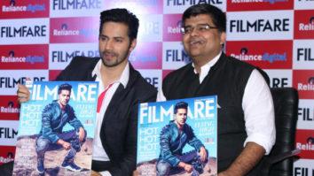 Varun Dhawan Unveils The August Issue Of 'Filmfare Magazine'