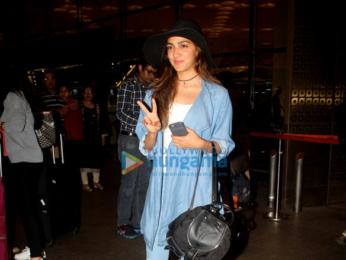 Kiara Advani leaves for a holiday in Hongkong