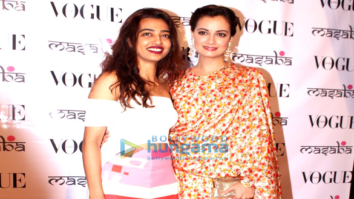Masaba previews her festive collection with celebs and friends