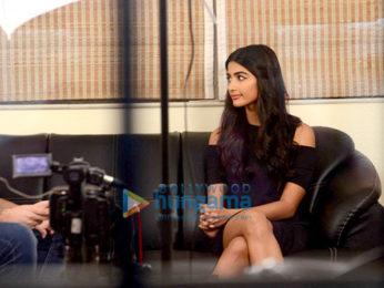 Pooja Hegde snapped promoting her film 'Mohenjo Daro'