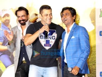 Salman Khan, Arbaaz & Sohail Khan launch the trailer of 'Freaky Ali'