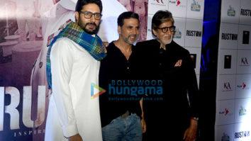 Amitabh Bachchan, Ileana DCruz, Athiya Shetty & others snapped at the special screening of 'Rustom'