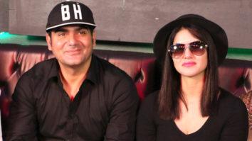 Sunny Leone, Arbaaz Khan At Announcement Of 'Tera Intezaar'