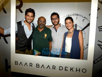 Trailer launch of 'Baar Baar Dekho'