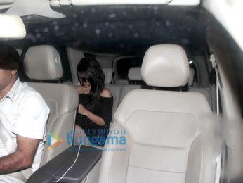 Aditya Roy Kapur & Shraddha Kapoor snapped post party at Shaad Ali's house