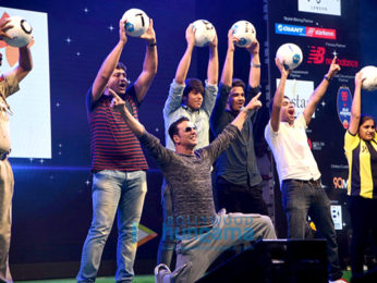 Akshay Kumar at the launch of HT GIFA football initiative
