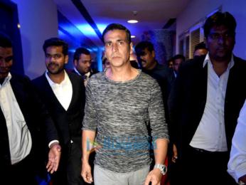 Akshay Kumar at the launch of HT GIFA football initiative
