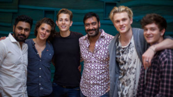 The Vamps Jam For Shivaay With Ajay Devgn & Mithoon