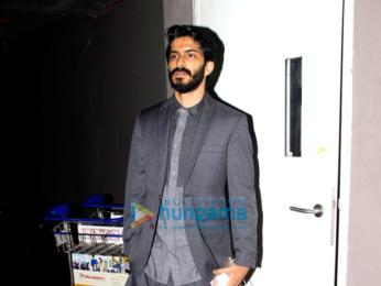 Harshvardhan Kapoor, Saiyami Kher & Suniel Shetty snapped at the airport
