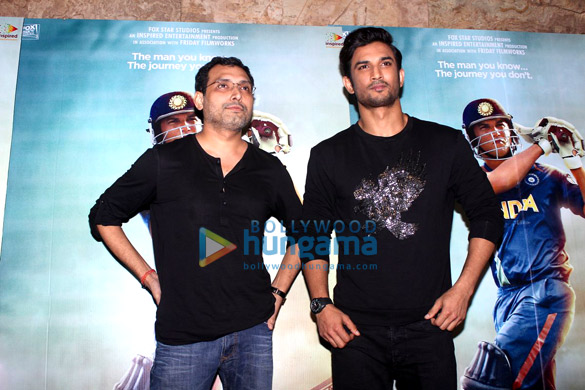 Launch of 'Har Gully Mein Dhoni Hai' song from 'M.S. Dhoni - The Untold Story'
