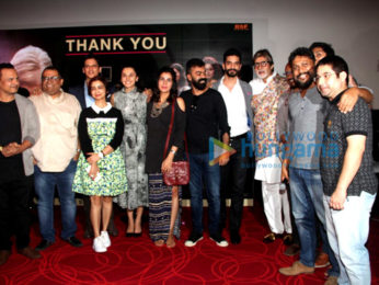 Media meet of 'Pink' with cast and crew
