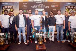 Press conference of 'Freaky Ali' in Dubai