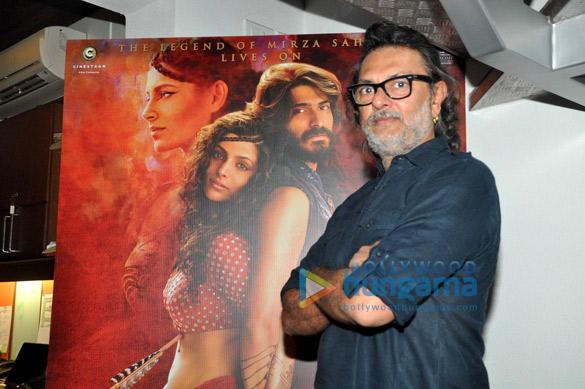 Saiyami Kher & Rakeysh Omprakash Mehra snapped promoting 'Mirzya'