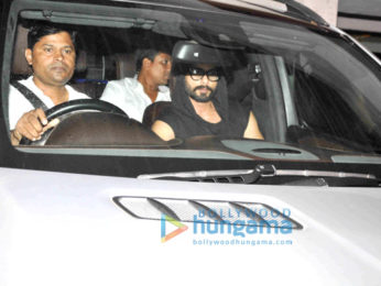 Shahid Kapoor snapped post his meeting with film maker Sanjay Leela Bhansali