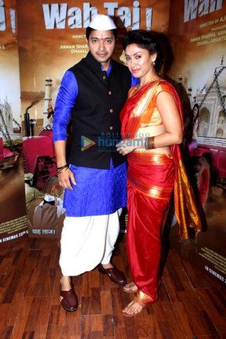 Shreyas Talpade & Manjari Fadnis promote 'Wah Taj'